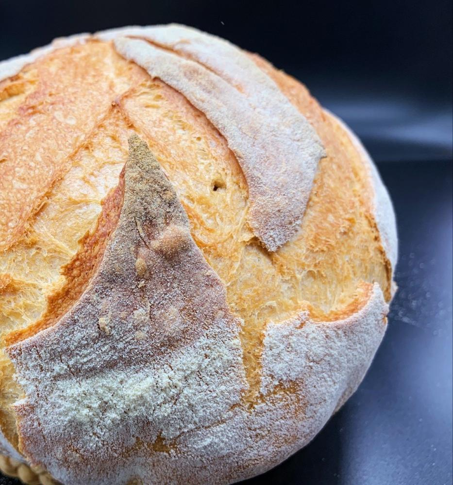 no knead pot bread